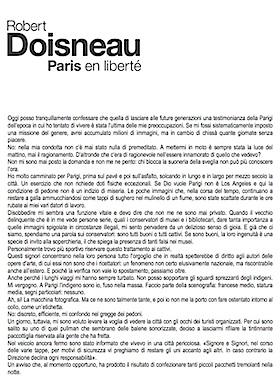 Clicca per leggere il testo di Robert Doisneau