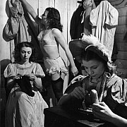 robert doisneau cirque fanni 1951