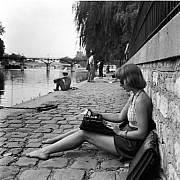 robert doisneau la dactylo du vert galant paris 1947