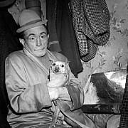 robert doisneau le clown beby au cirque d hiver 1945