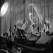 robert doisneau tapisserie des gobelins la harpe paris 1945