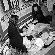 robert doisneau voyageurs sans bagage 1942