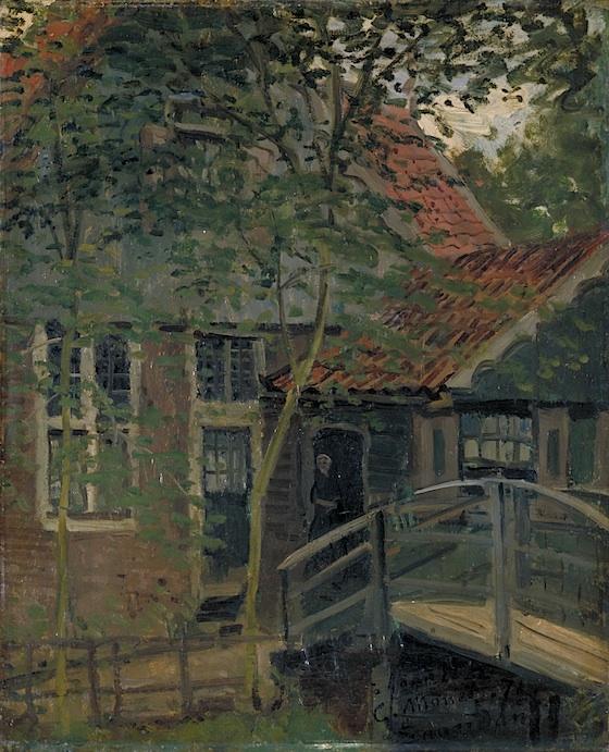 Ponte a Zaandam, 1871
