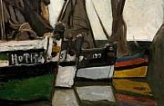 bateau de peche a honfleur 1866