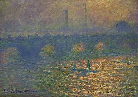 Il ponte di Waterloo, 1900