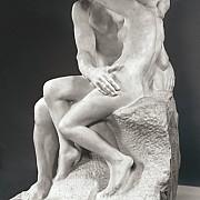 auguste rodin il bacio le baiser 1885 marmo