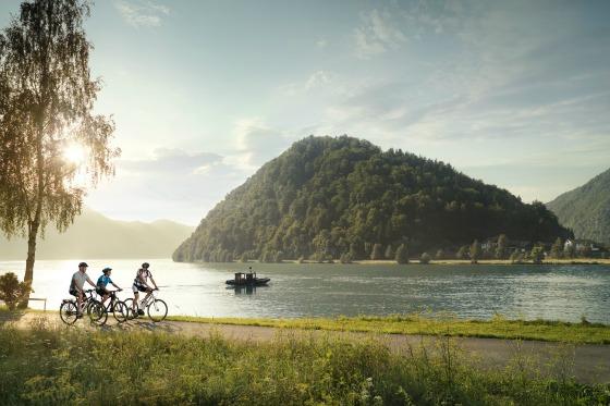 Ciclabile del Danubio in Austria