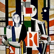 fernand leger men in the city 1919
