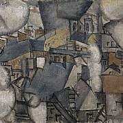 fernand leger smoke over rooftops 1911