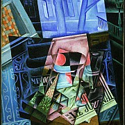 juan gris still life before an open window place ravignan 1915