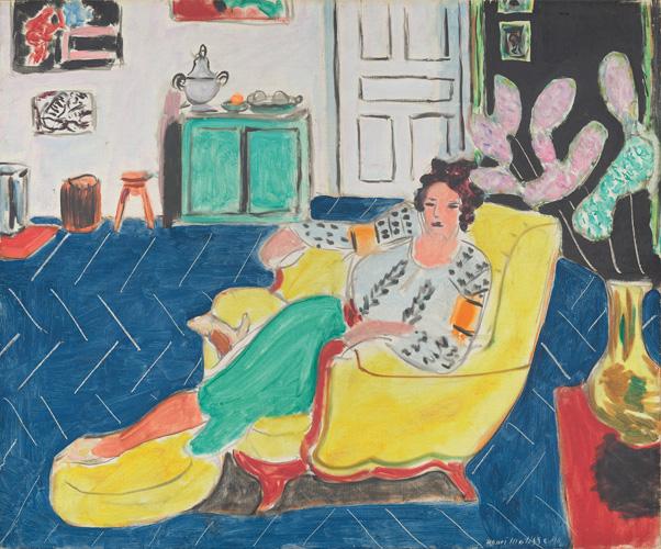 Henri Matisse - Donna in poltrona 1940