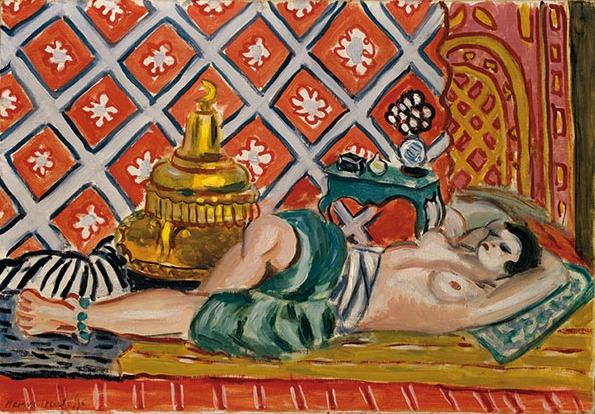 Henri Matisse - Odalisca distesa, 1926