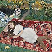 henri matisse giovani ragazze in giardino 1919