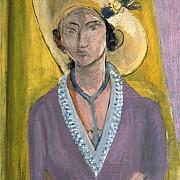 henri matisse il cappello giallo 1929