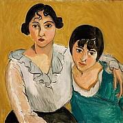 henri matisse le due sorelle 1917