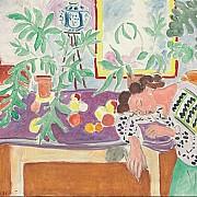 henri matisse natura morta con donna addormentata 1940