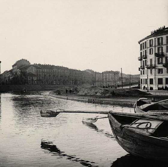 La darsena di Porta Ticinese