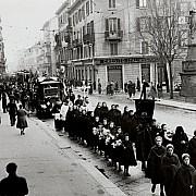 arnaldo chierichetti processione alla crocetta di porta romana