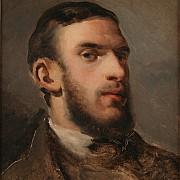 camille pissarro autoportrait 1852 1854 1000px
