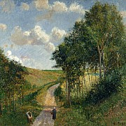 camille pissarro paysage a berneval 1900 1000px