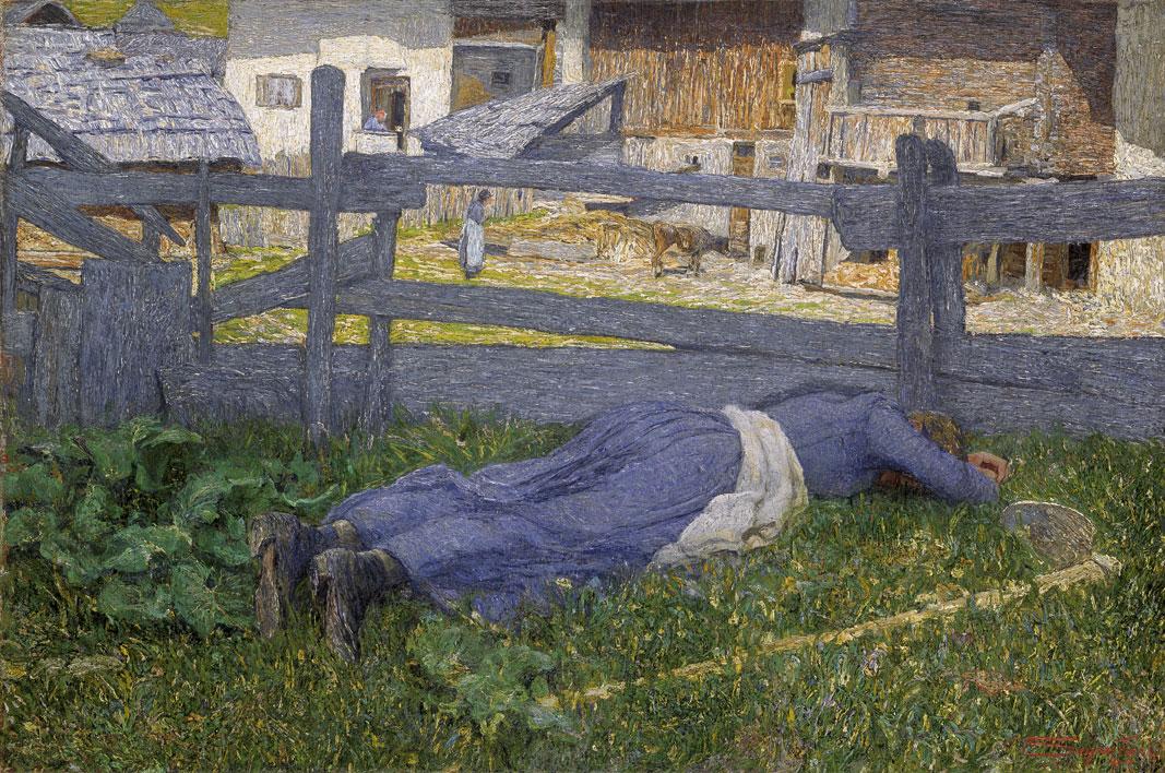 Riposo all'ombra, 1892