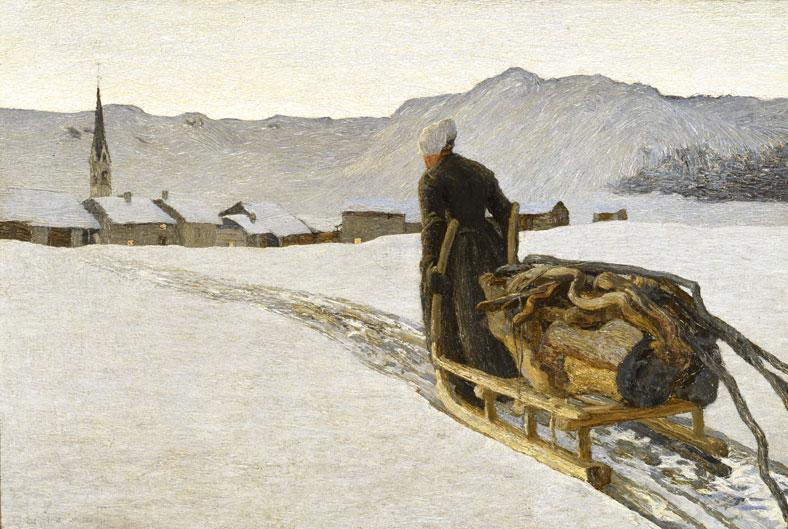 Ritorno dal bosco, 1890