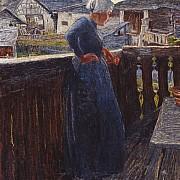 sul balcone 1892