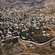 yann arthus bertrand muro costruito da israele nella west bank