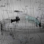 yann arthus bertrand rete pesca regione dacca bangladesh piccola