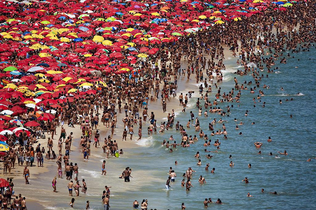 Ipanema beach Rio de Janeiro, Brasile