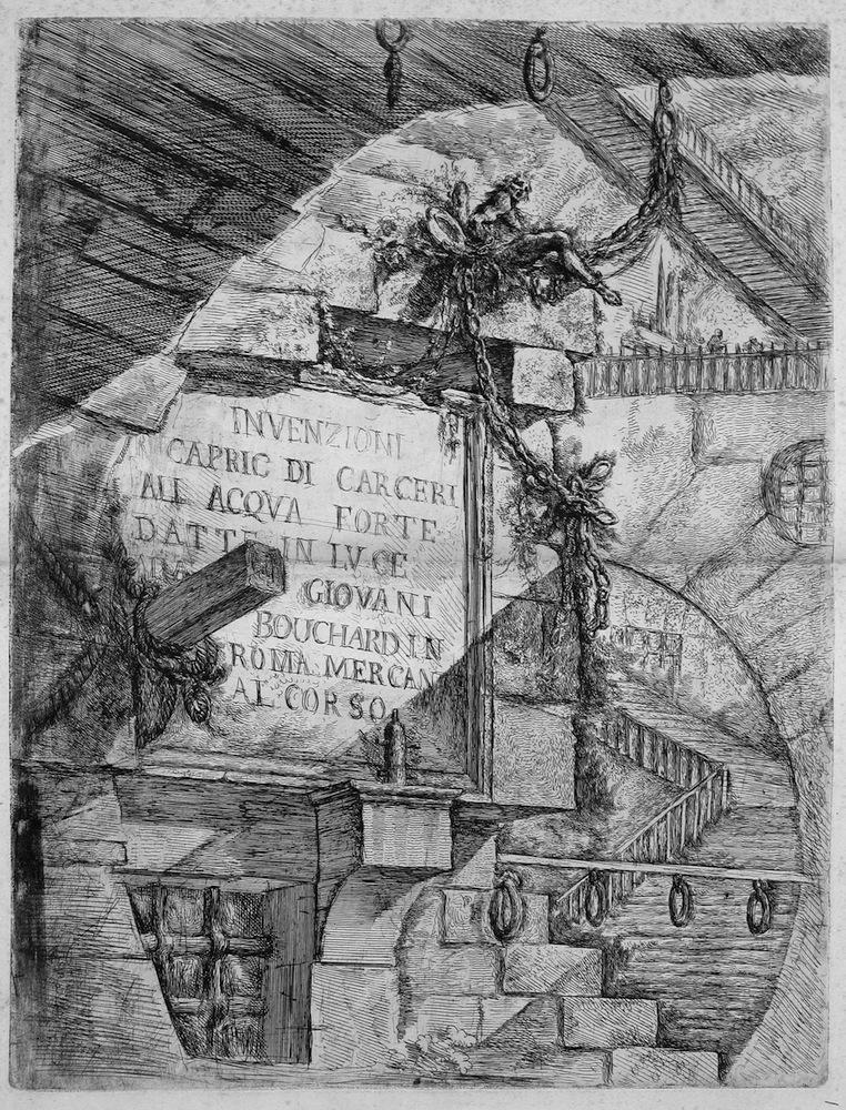 Piranesi – 1745 Capricci di Carceri – Tutto è Scenografia