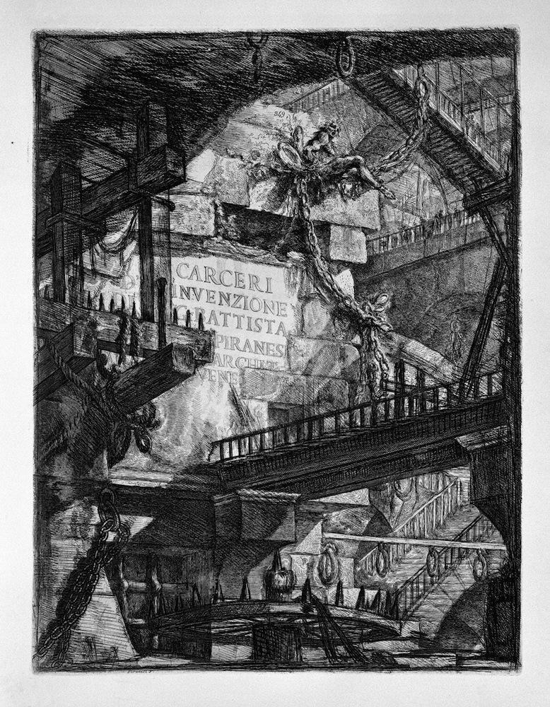 Piranesi – 1761 Carceri d'Invenzione