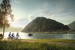 Vacanze lungo le ciclabili dell'Austria