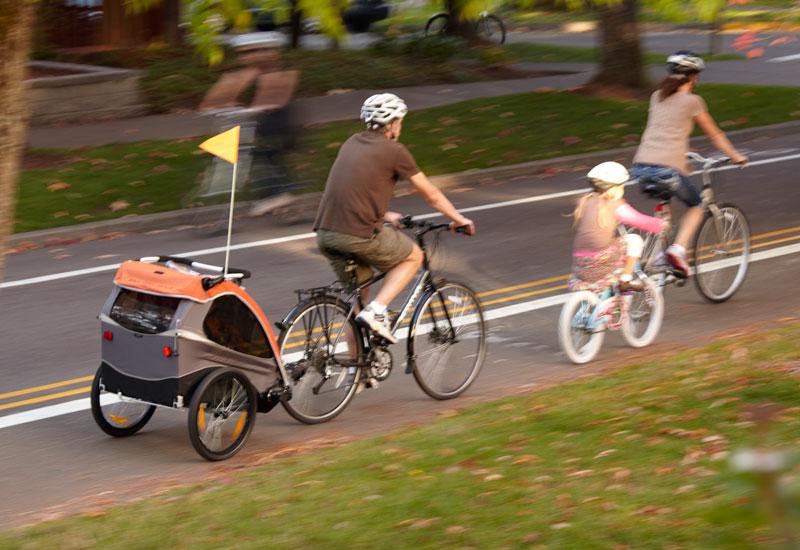 Un carrellino buono non perde valore nel tempo e può essere facilmente rivenduto. [immagine www.burley.com]