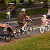 Carrellino per bimbi Bellelli da attaccare alla bicicletta