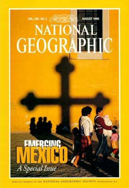 Copertina di un vecchio National Geographic