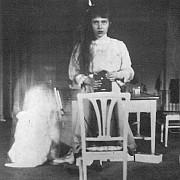 granduchessa anastasija nikolaevna romanova a 13 anni nel 1914