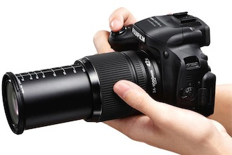 Fuji FinePix HS50EXR con zoom 24-1000