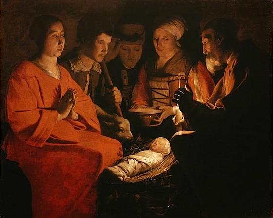 Georges de la Tour - Adorazione dei pastori - circa 1644