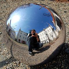 Riflesso su una sfera