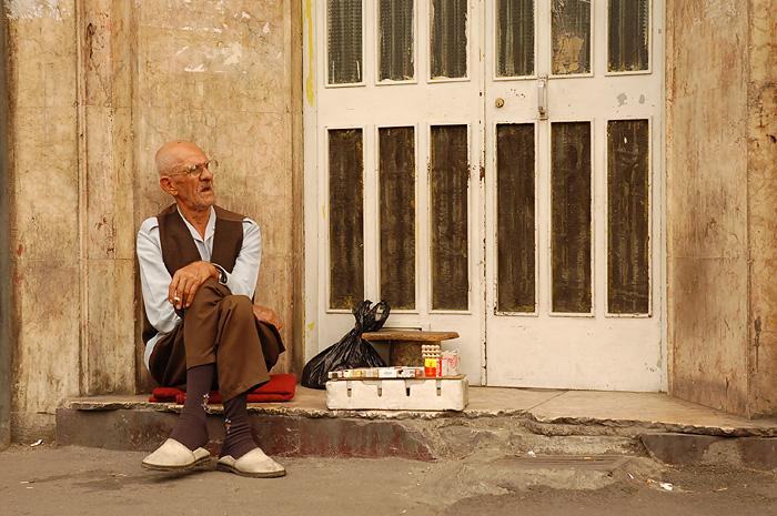 Venditore di sigarette, Tehran, Iran