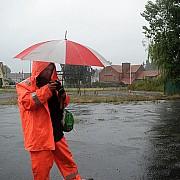 passeggiata fotografica sotto la pioggia