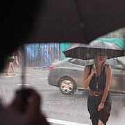 pioggia a new york