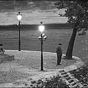 andre kertesz le pont marie la nuit 1963