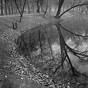 kozak lajos in autunno il parco della citta 1940