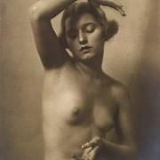 olga mate nudo femminile 1920