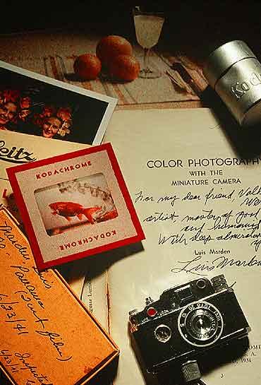 I primi esperimenti di Luis Marden con la fotografia a colori ed il suo libro del 1934 - Foto S. Leen