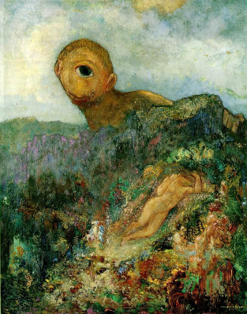 Odilon Redon - Il Ciclope