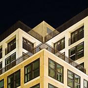 berlino architettura notte diagonale