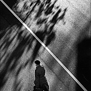 ombre passante strada linea diagonale
